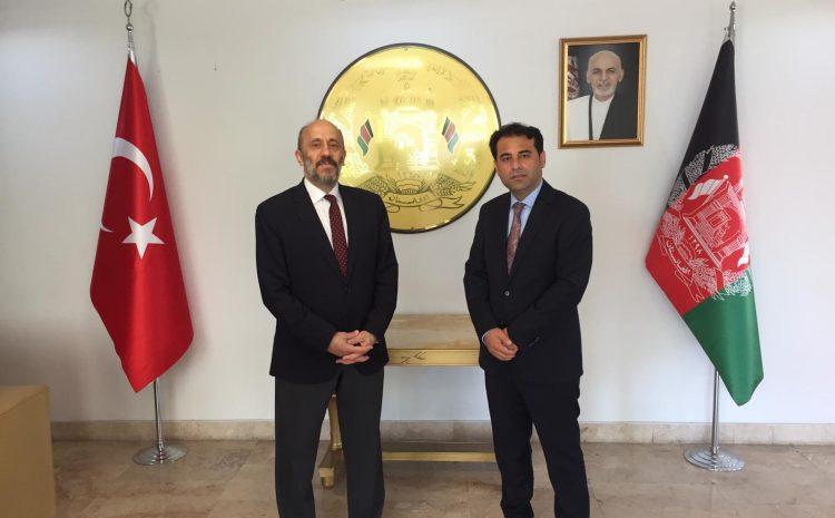 Prof.Dr.Yavuz Demir Has Visited Afghanistan Embassy